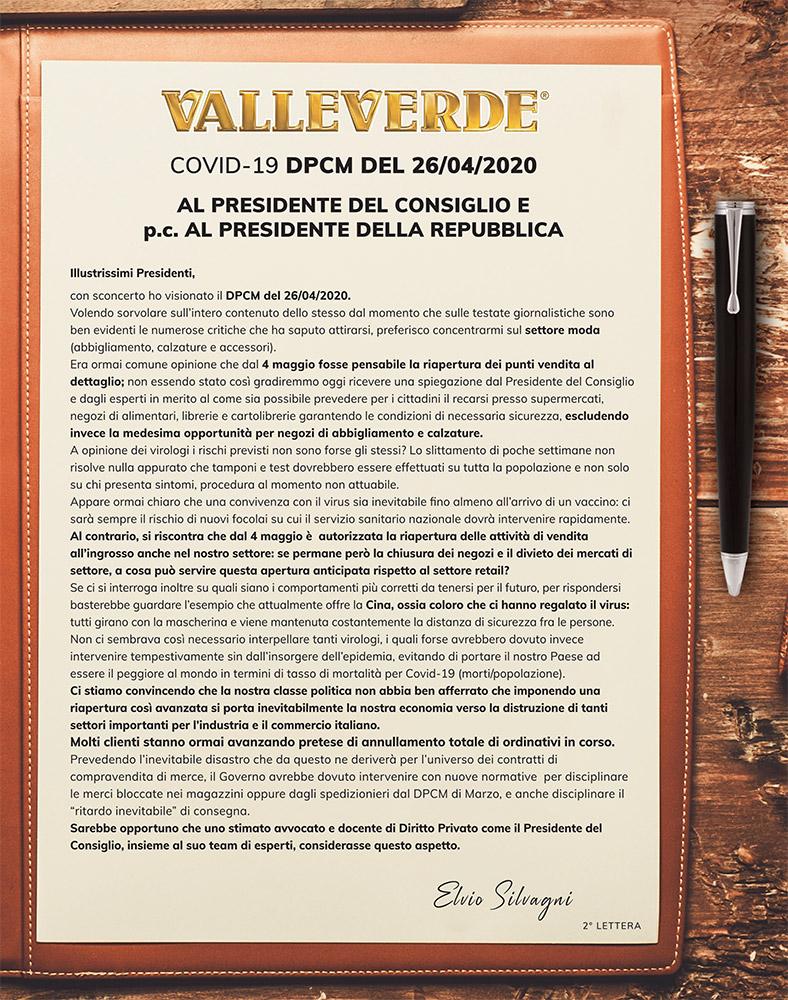 lettere silvagni covid 19 - sveglia italia